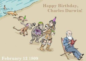 Darwin's Surprise Bday